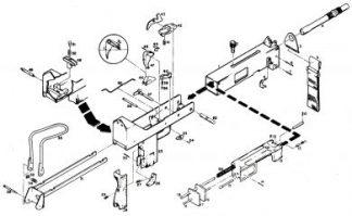 M11/9 Machine Gun Parts