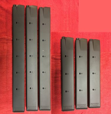 ZMag Steel M11/9mm or  380 30 and 50 rnd Magazine Assortment - Shockwave  Technologies